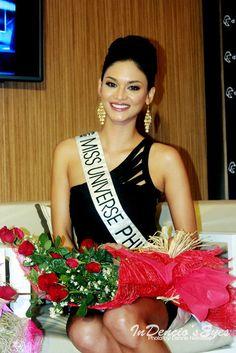 Miss Universe Philippines 2015 Pia Wurtzbach Send Off Miss Universe Philippines, Miss Philippines, Emmalyn Estrada, Miss Universe 2015, Filipina Beauty, Filipiniana, Planet Hollywood, Beautiful Inside And Out, Miss World