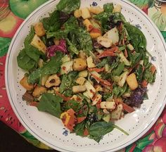 Spinach & Spring Mix Salad