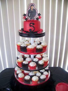 Michael Jackson Cupcake Tower | Flickr - Photo Sharing!