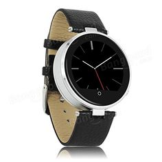 ZGPAX S365 Bluetooth Smart Watch - SMS + Notification Function, Anti Lost, Pedometer, Sleep Monitor, Sedentary Reminder (Black). At a Glance... Stylish metal and leather watch for men and women will look great for all occasions Sync with your Smartphone or tablet and use the free Android + iOS app to access all the features With Anti lost functions you will never misplace or leave your phone or tablet behind again. The pedometer, sleep monitor and sedentary reminder will help to keep you...