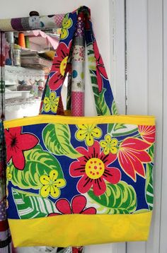 """Tania Forti - """"Xô depressão"""": Ecobag, ou sacola de praia, ou maxi-bolsa, ou bols..."""