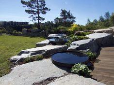 Fra grus og stein til grønn og frodig hage