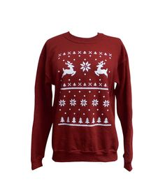 Dachshund Christmas sweater Fair Isle handmade pets clothing small ...