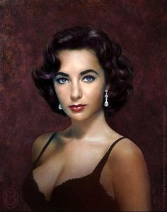 """The """"violet"""" eyes of Elizabeth Taylor. I knew someone who got to dance with her at a USO function in He said he was haunted by her eyes - the most beautiful he had ever seen. Hollywood Icons, Old Hollywood Glamour, Golden Age Of Hollywood, Hollywood Stars, Classic Hollywood, Hollywood Actresses, Most Beautiful Women, Beautiful People, Absolutely Stunning"""