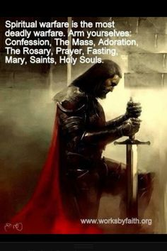 Spiritual Warfare...Fight...