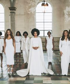 All The Outfits From Solange's Epic Wedding Weekend #refinery29  http://www.refinery29.com/2014/11/78102/solange-knowles-wedding-outfits