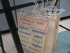 I love the idea of the hangers!