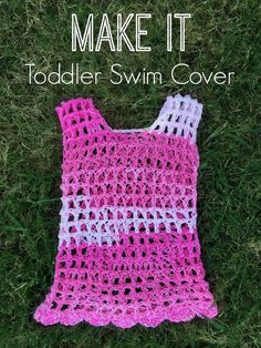 I am excited to share with you this fun pattern! I bought a whole bunch of Cotton yarn to make swim covers for my girls months ago... and...