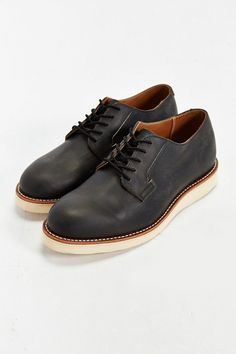 Red Wing Mens Postman Oxford 3118 Copper Leather Shoes 45 EU NfK33QP8