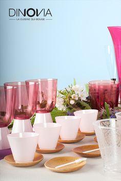 dcoration de table pour un mariage bohme un buffet de mariage avec de la vaisselle - Assiette Jetable Mariage