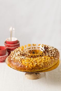 receta roscon reyes calabaza navidad Birthday Candles, Food And Drink, Sweet, Blog, Gluten, Gourmet, Pumpkin Puree, Deserts, Candy