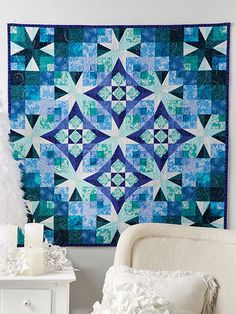 Frost in the Air Quilt Pattern - Quilting Digest