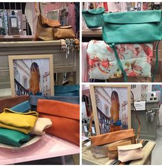 Les pochettes Ripauste vous attendent dans la boutique Rose Poudré à Alès  Pochette Bandoulière, Cuir cae1c40dd6c