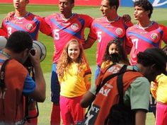 Conozca la historia de la niña que se enamoró de Costa Rica en el mundial