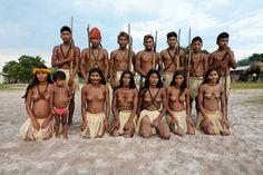 https://flic.kr/p/pQcdK2 | Indígenas da etnia Munduruku na aldeia Waro Ampompu, Amazônia paraense.