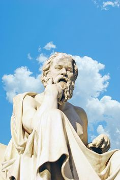 Photo about Socrates statue at the Academy of Athens building in Athens, Greece. Image of clacissism, demon, marble - 24422781 Iphone 5 Wallpaper, Socrates, Athens Greece, Greek, Branding, Sculpture, Statue, Classic, Inspiration
