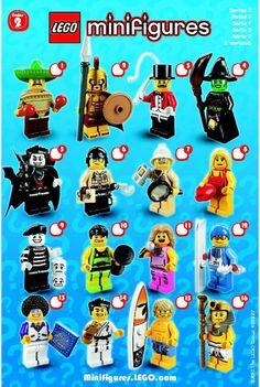 Mini Figures - LEGO Minifigures Series 2 Random Figure [Lego 8684]