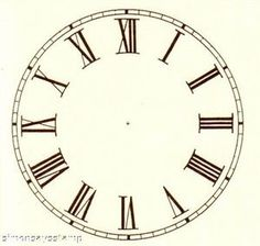U105 / 5.7 clock face