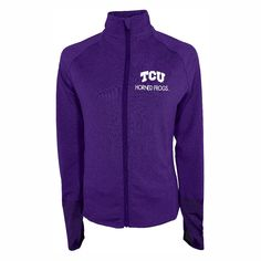 8ab4fc48ef32da NCAA Tcu Horned Frogs Women's Windbreaker Jacket - L, Size: Large, Blue  Womens