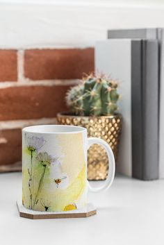 #Chamomile Song  @denydesigns Designs #Home #Accessories Ginette Fine Art Chamomile Song Coffee Mug | DENY Designs Home Accessories