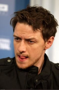 James McAvoy: read my tongue