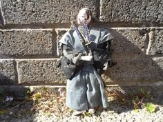 Antique Japanese doll - rare Edo period Japanese Asian antique doll - art