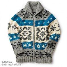 Free Intermediate Knit Jacket Pattern