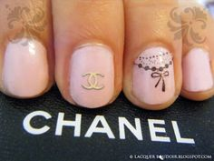 Love these Chanel nails <3