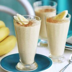 A healthier WW recipe for Banana and cinnamon smoothie ready in just Get the SmartPoints plus browse our other delicious recipes today! Smoothies Banane, Apple Smoothies, Healthy Smoothies, Banana Recipes, Ww Recipes, Healthy Recipes, Delicious Recipes, Smoothie Prep, Smoothie Recipes
