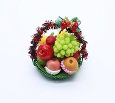 #Decoration #Xmas #Fruit #Gift #Basket #Dollhouse #Miniature #Handmade #Food #Supply #Set #2 #Miniature Lovely for Mini Fairly Garden and #Decoration Material : Plastic, Resin Size Approx : ~0.4 - 1 inch 3D High Quality 100% #Handmade Thailand Product https://food.boutiquecloset.com/product/decoration-xmas-fruit-gift-basket-dollhouse-miniature-handmade-food-supply-set-2/