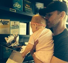 Jason Reso (WWE Superstar Christian) and his daughter on Father's Day OH MY GOD THE CUTENESS