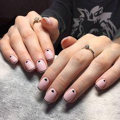 Diy Nails, Cute Nails, Pretty Nails, Beautiful Nail Art, Gorgeous Nails, Organic Nails, Minimalist Nails, Gel Nail Designs, Finger