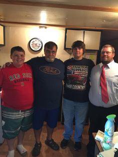 Casey, Eddie (Shon's Daddy), Brandon and Dale 06/2015