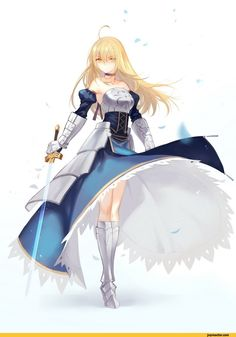 saber,Fate (series),anime,Fate/stay night