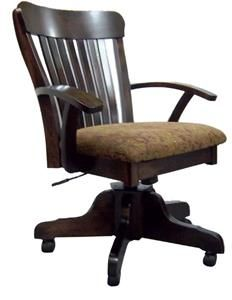 Amish Handcrafted Winchester Desk Chair