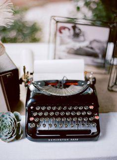 antique typewritter