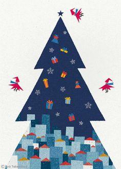 Ryo Takemasa 武政諒  (b.1981) — Merry Christmas, 2013 (520x728)
