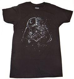 Star Wars Darth Vader Broken Mask Tshirt XXL Black >>> Click on the image for additional details.