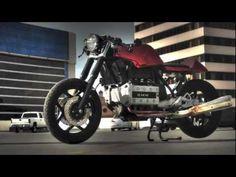 BMW K100rs Cafe Racer  Red