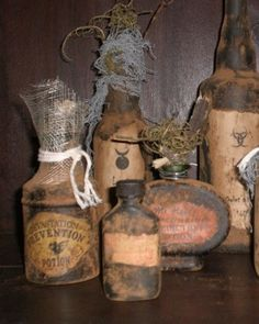 halloween apothecary by lynda