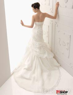 Love the back the mermaid wedding dress