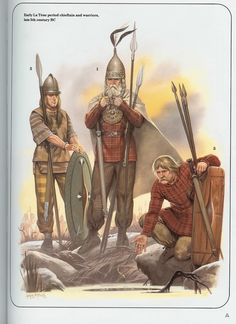 Various ancient Celtic Warriors by Angus McBride