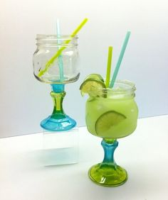 Your place to buy and sell all things handmade Mason Jar Projects, Mason Jar Crafts, Mason Jars, Diy Crafts For Gifts, Fun Crafts, Margarita Glasses, Ball Jars, Love Craft, Jar Gifts