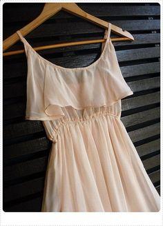 pastel mini sun dress