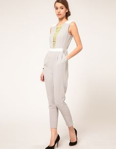 ASOS Jumpsuit With Neon Embellished
