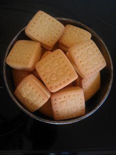 My homemade Custard Creams
