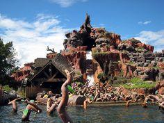 Splash Mountain at the Magic Kingdom, Walt Disney World, FL (My favorite ride in the MK)