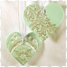 ...Make It With Me: Textured Heart Pendant
