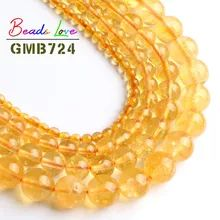 Wholesale A+ Yellow Quartz Citrines Round Beads Natural Stone Beads For Jewelry Making DIY Bracelet Necklace 6/8/10/12mm 15inch-in Beads from Jewelry & Accessories on Aliexpress.com | Alibaba Group Jewelry Making Beads, Beaded Jewelry, Diy Bracelet, Bracelets, Yellow Quartz, Cheap Beads, Stone Beads, Round Beads, Alibaba Group