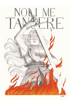 Illustration - 2019 (c) Marta Bertello Noli Me Tangere (Touch me not) Noli Me Tangere, Latin Phrases, It Works, Illustration, Movie Posters, Touch, Animals, Fictional Characters, Art